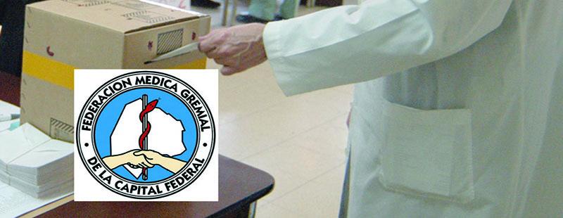 Elecciones en la Federación Médica de la Capital Federal