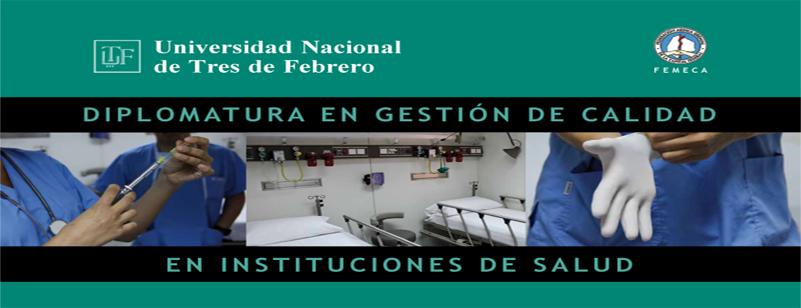 Diplomatura en gestión de calidad en instituciones de salud