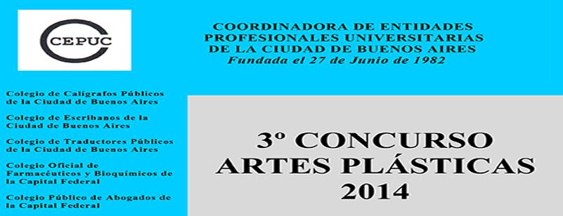 3º Concurso de Artes Plásticas 2014