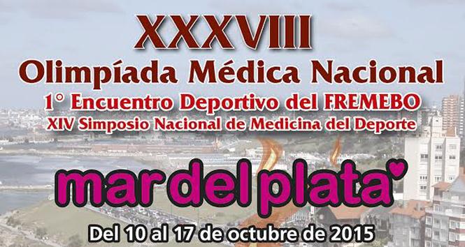 XXXVIII Olimpíada Médica Nacional