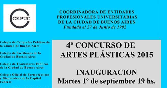 4º Concurso de Artes Plásticas 2015